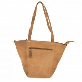 063341e546 AFO13 Ladies Leather Bucket Style Shoulder Bag-VL Vintage Tan